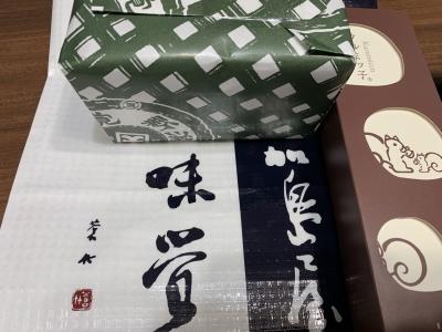 東京都台東区のトイプードルの飼い主さん、お土産画像