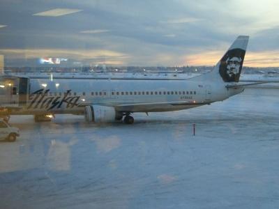 アラスカ航空画像