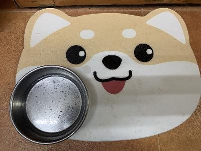 珪藻土柴犬画像
